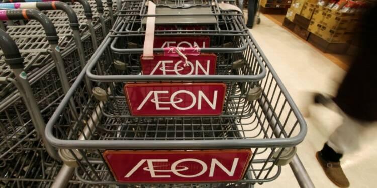 Aeon annonce un bénéfice annuel record, en hausse de 14%
