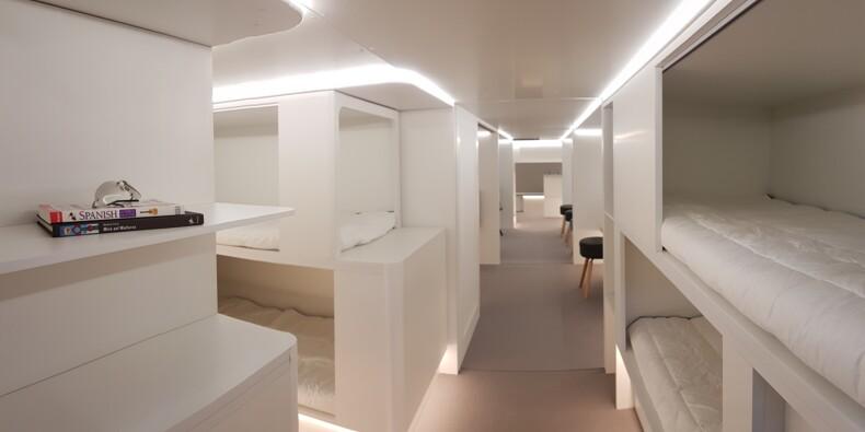 Bientôt des couchettes dans les soutes des Airbus?