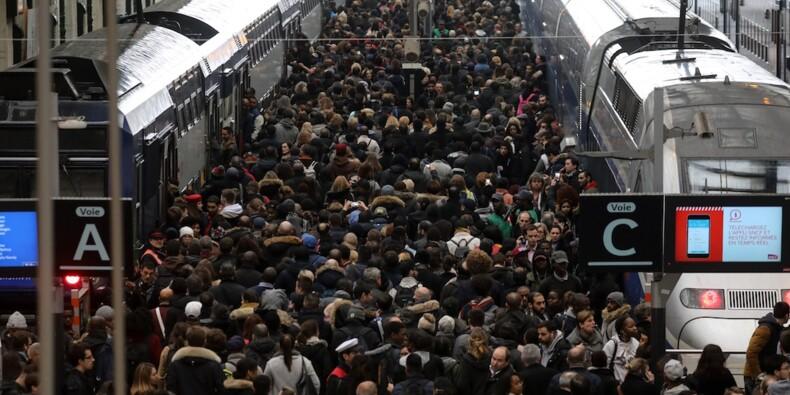 Grève SNCF : quels sont les droits des salariés qui ne peuvent pas se rendre au boulot ?