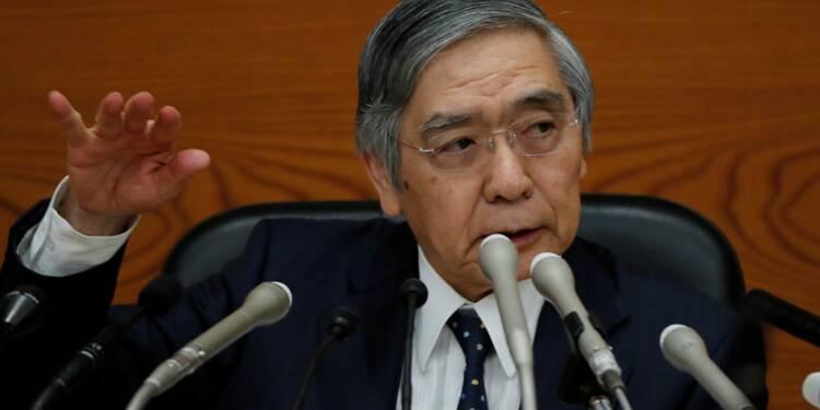 Kuroda: La BoJ restera ultra-accommodante