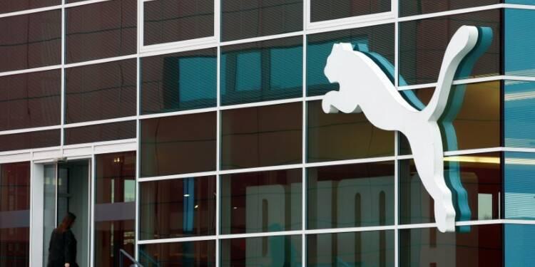 Puma relève ses prévisions après un bond de 12% du chiffre d'affaires au 1er trimestre