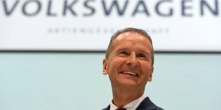 Diess s'efforce de rassurer face aux réformes chez Volkswagen
