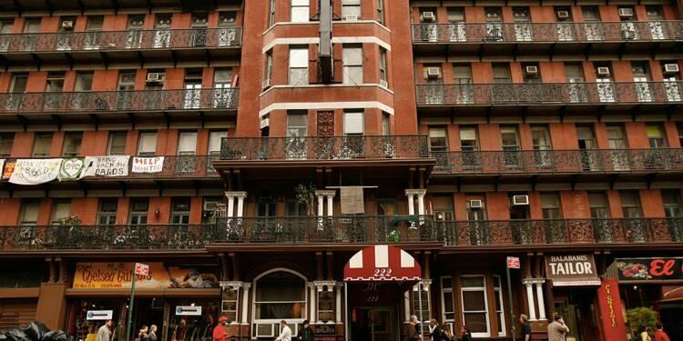 Des portes de chambres du Chelsea Hotel adjugées à plus de 500.000 dollars