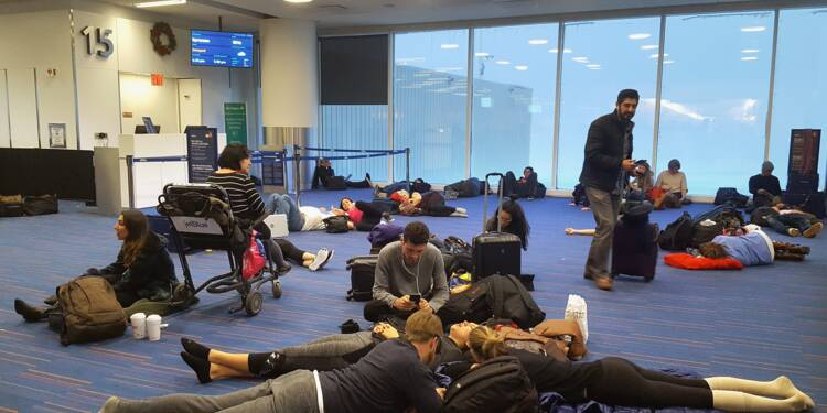 Pagaille lors d'un New York-Paris : 250 passagers réclament 2,5 millions d'euros