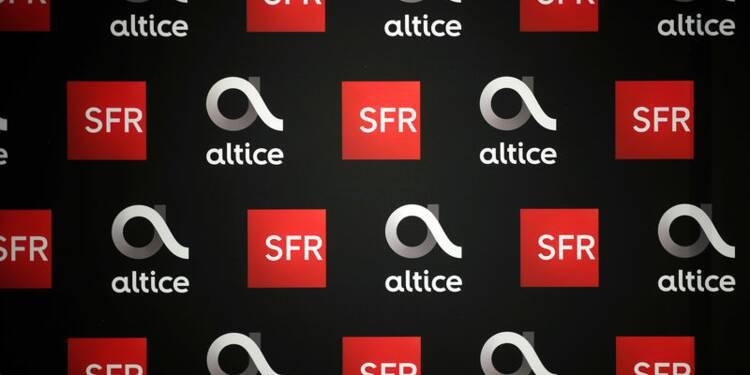 Altice bondit en Bourse sur un intérêt pour SFR prêté à Bouygues