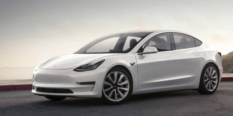 Tesla : encore des problèmes de production de la Model 3