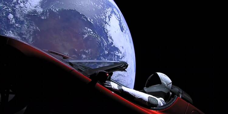 Un morceau d'une fusée SpaceX aurait été retrouvé sur une île bretonne