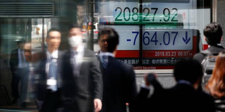 Tokyo finit sans tendance, le Nikkei abandonne 0,06%
