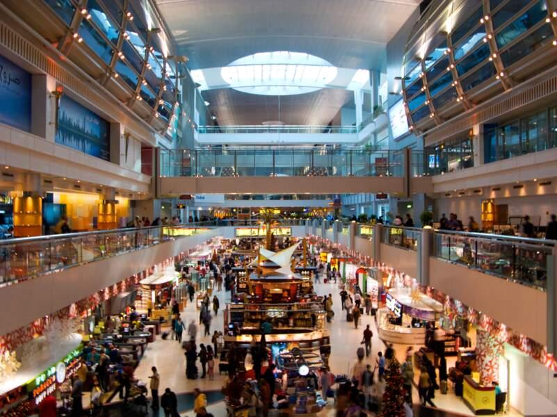 3ème : Aéroport International de Dubaï (Emirats arabes unis)