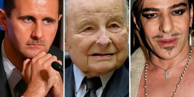Al-Assad, Servier, Galliano… Ces Légions d'honneur qui font débat
