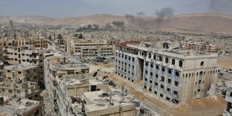 Syrie: une équipe de sécurité de l'ONU a essuyé des tirs à Douma