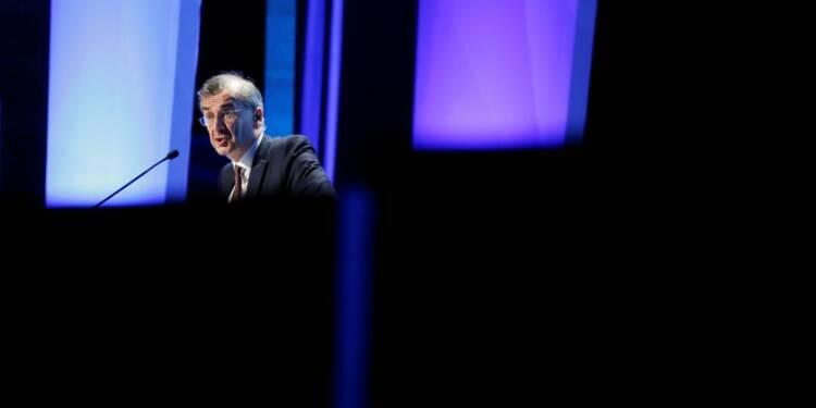 Villeroy (BCE) fait état de risques accrus