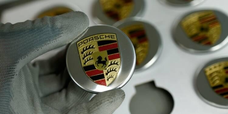 Diesel: Perquisitions chez Porsche, un directeur soupçonné