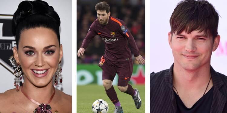 Katy Perry, Lionel Messi, Ashton Kutcher... Ces célébrités à fond dans le Bitcoin
