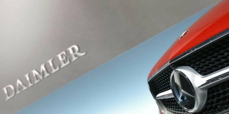 Daimler ouvert à une entrée dans Volvo