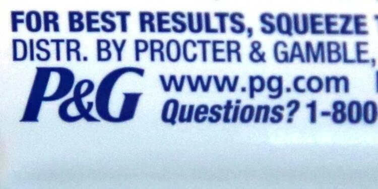 P&G bat de peu le consensus, l'action recule