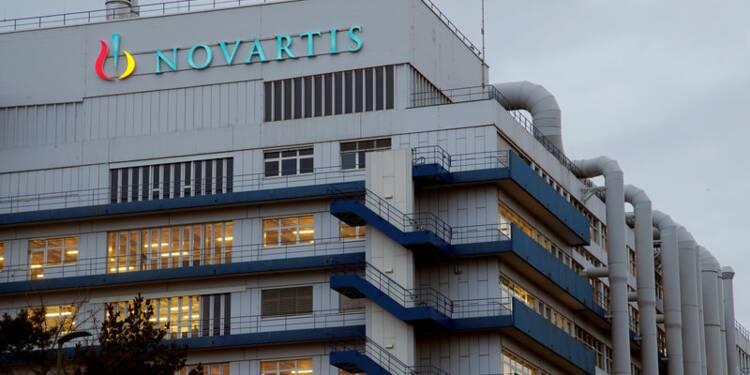Novartis confirme ses objectifs 2018 avec la reprise d'Alcon