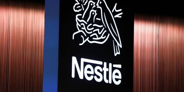 Nestlé confirme ses objectifs, les ventes accélèrent