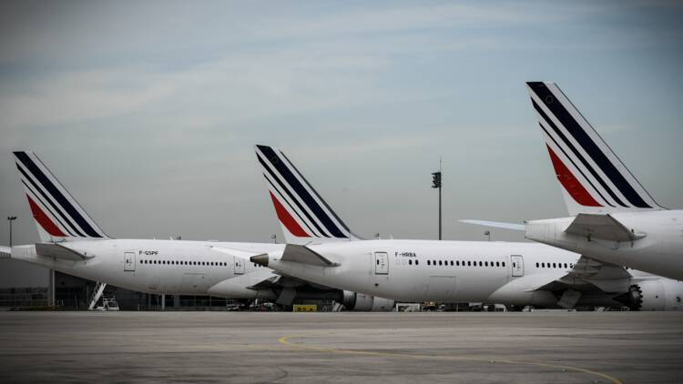 Les Boeing d'Air France cloués au sol à cause du syndicat des pilotes ?