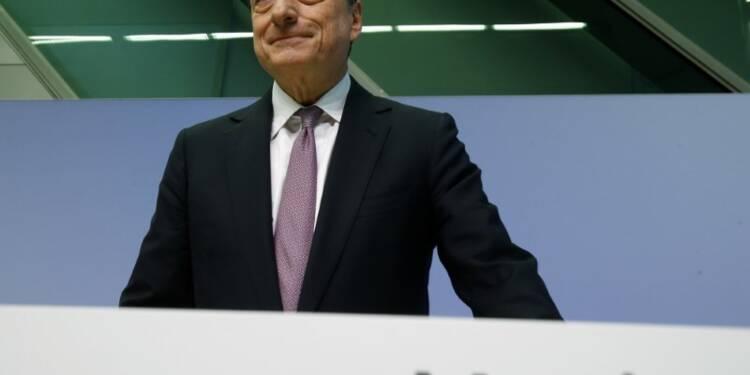 La croissance en zone euro est robuste, la BCE doit rester patiente, selon Draghi