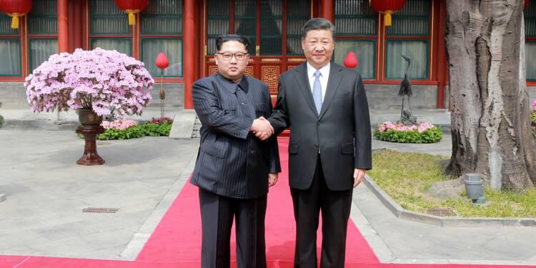 Kim Jong Un et Xi Jinping affichent leur entente retrouvée