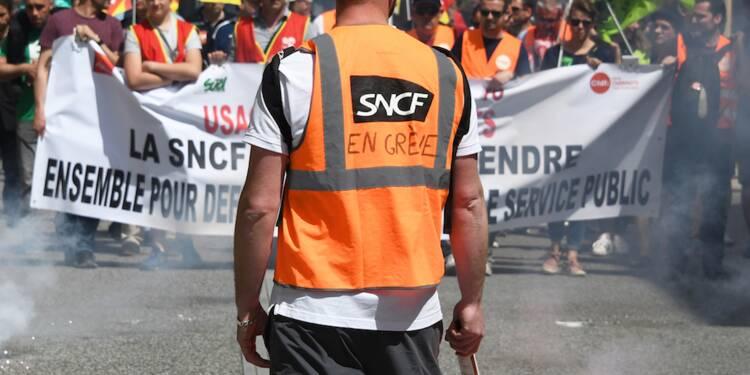 Les syndicats attaquent la SNCF pour que les jours de repos tombant pendant la grève ne soient pas décomptés
