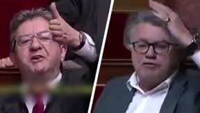 """""""Trouillard"""", """"Péteux"""" : Jean-Luc Mélenchon et Gilbert Collard s'écharpent à l'Assemblée nationale"""