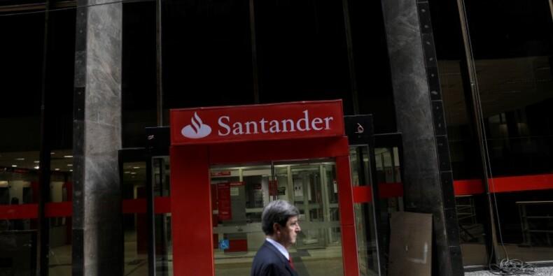 Santander freiné par le Royaume-Uni au 1e trimestre, le titre baisse