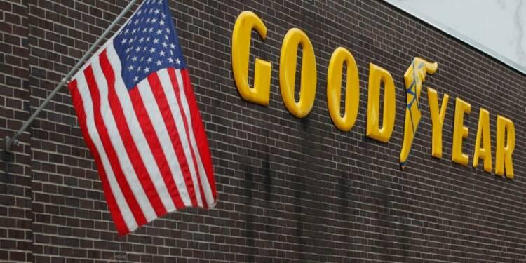 Goodyear annonce un bénéfice en baisse mais meilleur que prévu