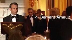 Bernard Arnault à la Maison Blanche avec Emmanuel Macron... qui se défendait pourtant d'être son ami
