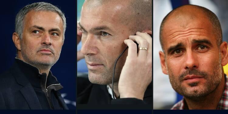Mourinho, Zidane, Guardiola... Découvrez les salaires mirifiques des entraîneurs de foot