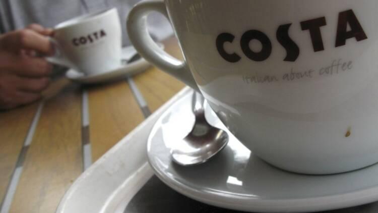 Grande Bretagne: Whitbread va scinder Costa Coffee