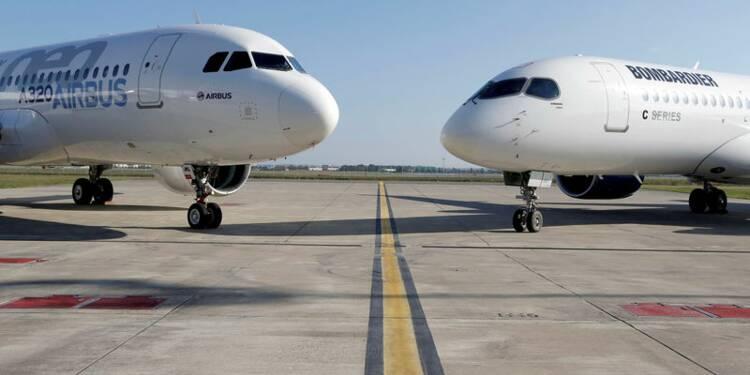 Airbus prêt à se mesurer à UTC pour baisser les coûts du CSeries