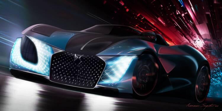 DS X E-Tense - CONCEPT CAR 2035
