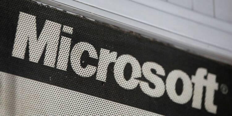 Microsoft: Un troisième trimestre meilleur que prévu mais le titre baisse