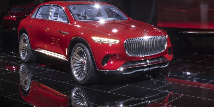 Vision Mercedes-Maybach Ultimate Luxury au Salon de l'automobile de Pékin