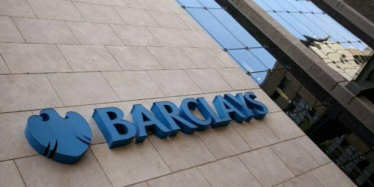 Barclays impactée par le coût des litiges au 1er trimestre