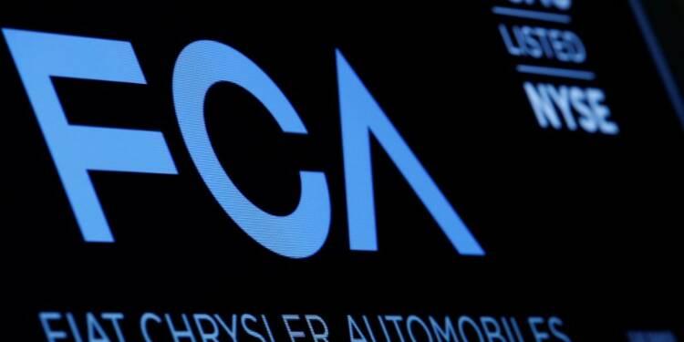 Fiat Chrysler a réduit son endettement plus que prévu au premier trimestre