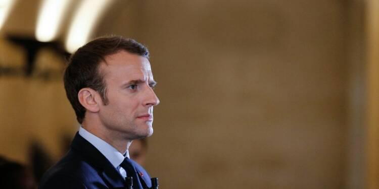 La très coûteuse affiche de Macron pour le second tour