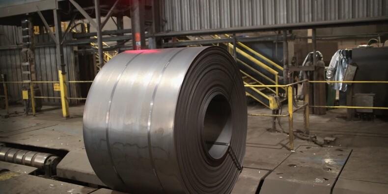 """Taxes sur l'acier: pour l'UE, le nouveau sursis américain """"ne suffit pas"""""""