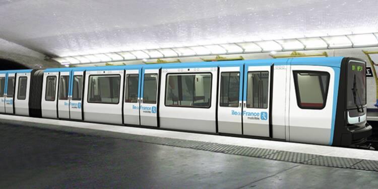 Les métros parisiens vont changer de couleur
