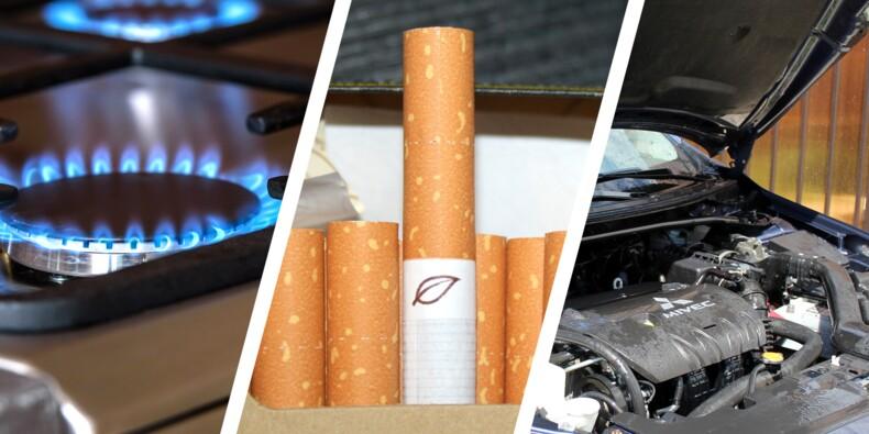 Tarifs du gaz, des cigarettes, contrôle technique… Le point sur ce qui change à partir du 1er mai
