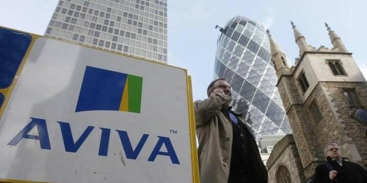 Aviva annonce des rachats d'actions, le titre monte
