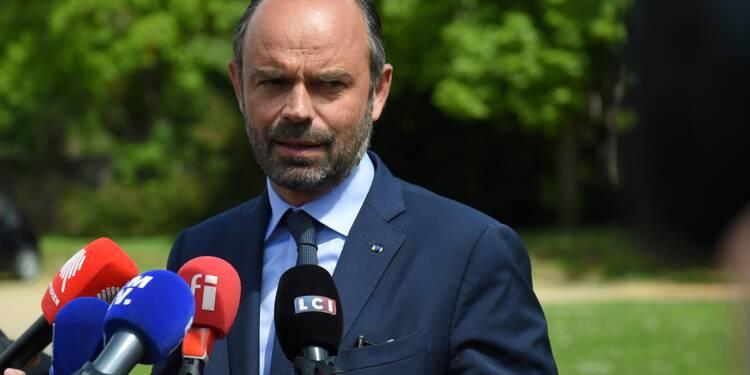 Depuis le Cher, Edouard Philippe défend la gestion du 1er mai