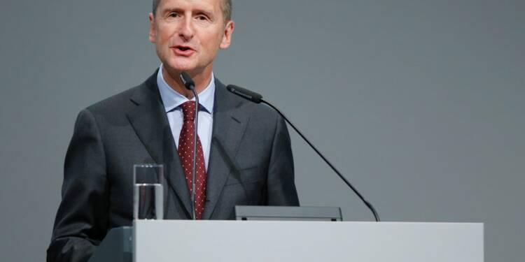 Le patron de VW promet une plus grande intégrité du groupe