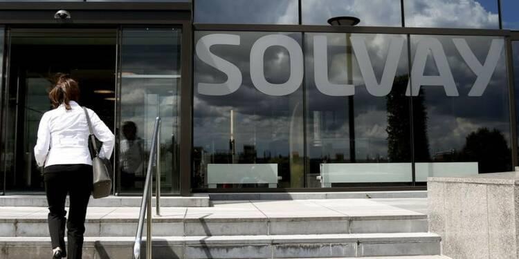 Solvay: Changes et charges fixes ont grevé le résultat du 1er trimestre