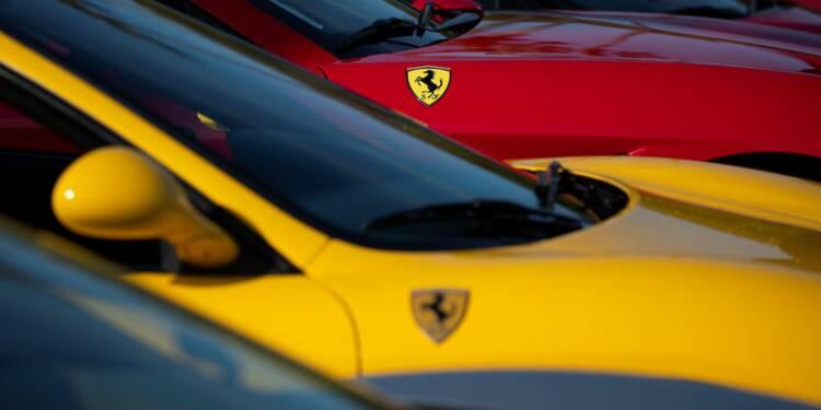 Ferrari publie un bénéfice en hausse de 13%