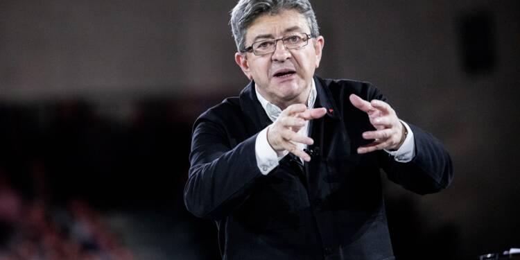 Jean-Luc Mélenchon insinue que SFR a fait un cadeau d'1,5 million d'euros à Emmanuel Macron