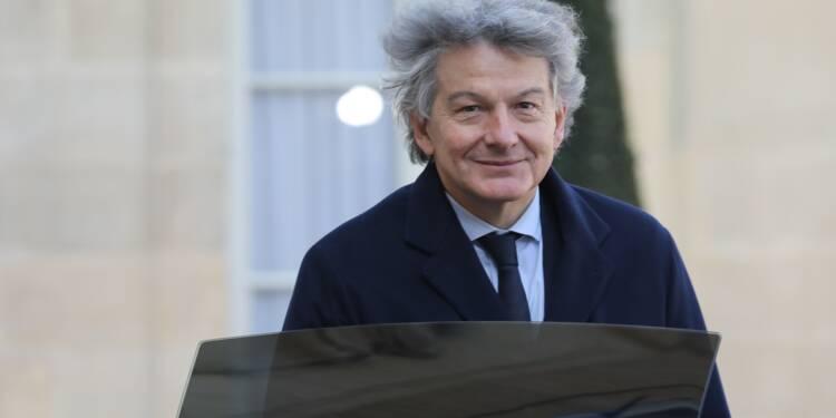 Thierry Breton encaisse 10 millions d'euros en vendant des actions Atos