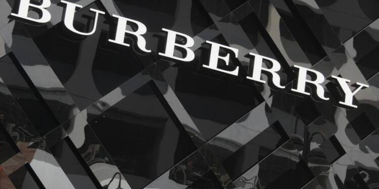 Burberry: GBL va céder l'intégralité de sa participation de 6,6%
